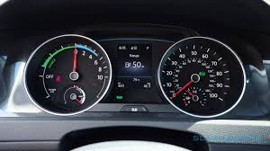 2018 volkswagen e golf range.  range you get the same gage layout in driveru0027s cluster only tachometer  now shows realtime electric power or charge status while fuel  inside 2018 volkswagen e golf range f