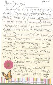 Thank You Letter To Doctor Adorable Compassionate Oncology Medical Group Patient Feedback