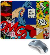 Коврик для мышки <b>BLAH</b>-<b>BLAH</b>-<b>BLAH</b>! #432831 от Just kidding