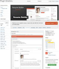 How To Create An Online Resume Using WordPress - Resume Builder