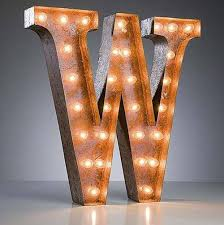 24 marquee letter lights 24 letter w lighted vintage marquee letters rustic 2 v=