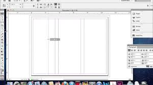 make tri fold brochure creating a trifold brochure in adobe indesign youtube