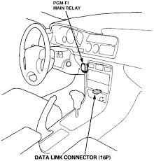 1996 honda accord ex fuel pump relay 2 2l 4 cylinder 4 door