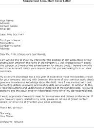 11 12 Examples Of Accounting Cover Letters Aikenexplorer Com