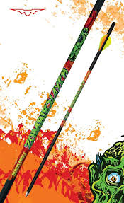 Zombie Slayer Crossbow Fletched Arrows