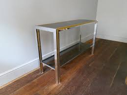 french brass and chrome console table s for sale at pamono