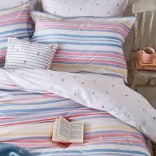 summer fruit stripe multi bedding summer fruit stripe double duvet cover