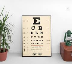 Where Can I Buy An Eye Chart Eye Chart