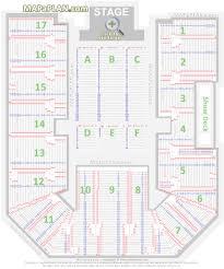 Seating Plan Genting Arena Wwe