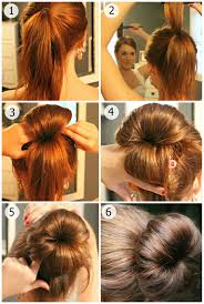 Different Bun Hairstyles Different Styles Of Messy Bun Hairstyle Nationtrendzcom
