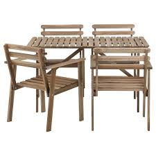 SALTHOLMEN Table And 2 Folding Chairs Outdoor  IKEAOutdoor Dining Furniture Ikea