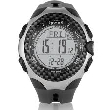 watch temperature compass reviews online shopping watch multifunction sports outdoor dial compass watch barometer pedometer temperature altimeter weather forecast men spovan mingo