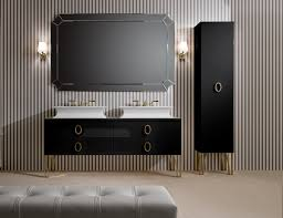 luxury bathroom furniture. Bathroom:Daphne D11 High End Italian Bathroom Furniture In Black Lacquer Then 22 Best Gallery Luxury B