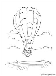Luchtballon Kleurplaten Gratis Kleurplaten