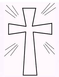 Small Picture Free Printable Cross Coloring Pages What Mommy Does