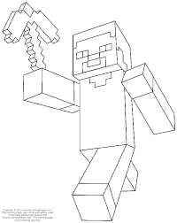 Minecrafts Colouring Pages Minecraft Minecraft Coloring Pages