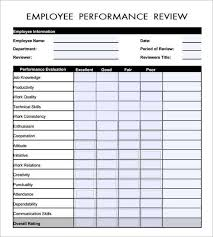 sample employee evaluations 8 best forms images on pinterest performance evaluation website