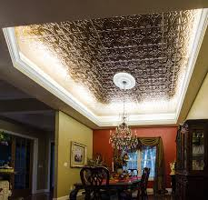 ceiling cove lighting. LED Ceiling Cove Lighting Eclectic-dining-room H
