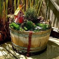 fairy garden pots. Small Fairy Garden In Its Own Container Pots