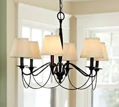 pb basic silk chandelier shade set of 3