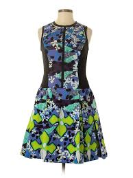 Peter Pilotto Size Chart Details About Peter Pilotto For Target Women Purple Casual Dress 8