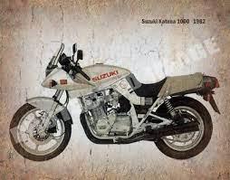 suzuki katana 1000 1982 motorcycle