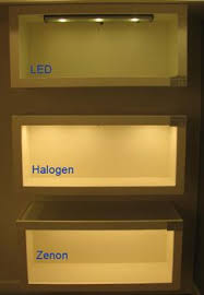 led vs fluorescent vs xenon vs halogen under cabinet lighting options are explored and compared adding cabinet lighting