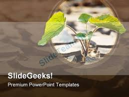 Drought Plant Nature Powerpoint Template 0810#powerpoint #templates ...