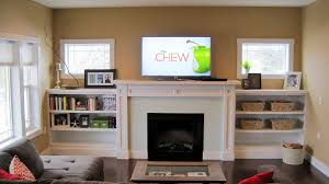 built in bookcase around fireplace above small square window 15 inspiring designs ideas of built