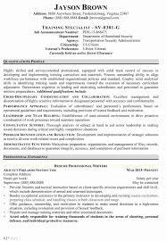 Example Federal Resume Example Federal Resume Cancercells 20