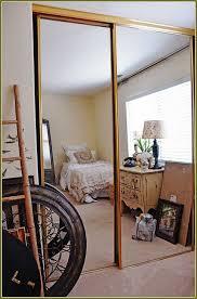 mirror closet door makeover home design ideas pertaining to mirrored doors idea 6