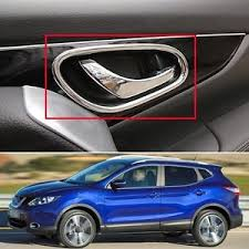 image is loading new chrome interior inside door handle cover trim