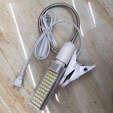 Đèn LED soi bụi siêu sáng 60 bóng (chân kẹp) - Đèn bàn Nhãn hàng No brand