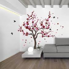 Cherry+blossom+tree+wall+decals+with+butterfly+wall+by+ChinStudio ...