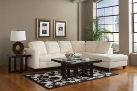 walker sectional sofa by coaster in offwhite fabric