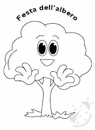 Festa Dellalbero Disegno Albero Per Bambini Lavoretti Creativi