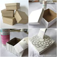 Decorative Paper Mache Boxes