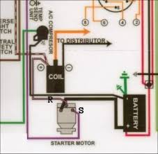 66 chevelle bu starter wire hook up need help chevelle tech this diagram shows a black positive battery cable when it should be red