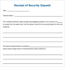 16 Sample Deposit Receipt Templates To Download Sample