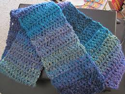Double Crochet Scarf Patterns Fascinating Ravelry DoubleCrochet OneBall Scarf Pattern By Lion Brand Yarn