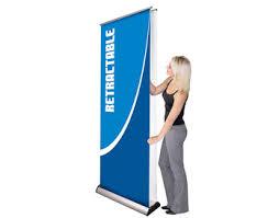Retractable Display Stands Excalibur Double Sided Banner Stands Double Sided Retractable 51
