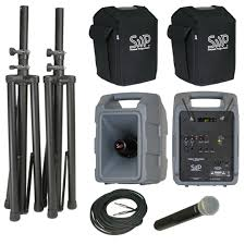 sound system wireless: voice machine portable sound system