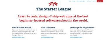 Большой список образовательных ресурсов Программирование дизайн  the starter league бывший code academy