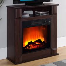 prokonian electric fireplace with 26 mantle b0213 dark cherry com