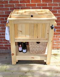 patio deck cooler stand reveal sweet