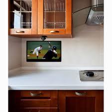 Under Cabinet Tvs Kitchen Under Cabinet Flip Down Kitchen Tv Cliff Kitchen
