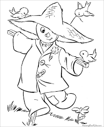 Scarecrows Halloween Printable Coloring Page For Free 21 halloween coloring pages free printable word, pdf, png, jpeg on what page template is applied wordpress