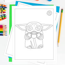 ➜ easy, simple follow along drawing lessons for kids or beginners. The Most Adorable Baby Yoda Coloring Pages For Kids