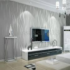 10m Silver 3D Non-woven Wave Stripe ...