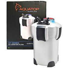 aquatop aquatop cf canister filter with uv clarification